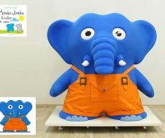 peluche elefante mimbo jimbo xxl