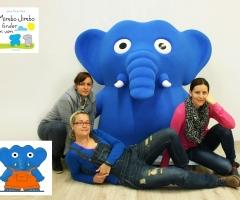 Peluche xxl elefante Mimbo Jimbo